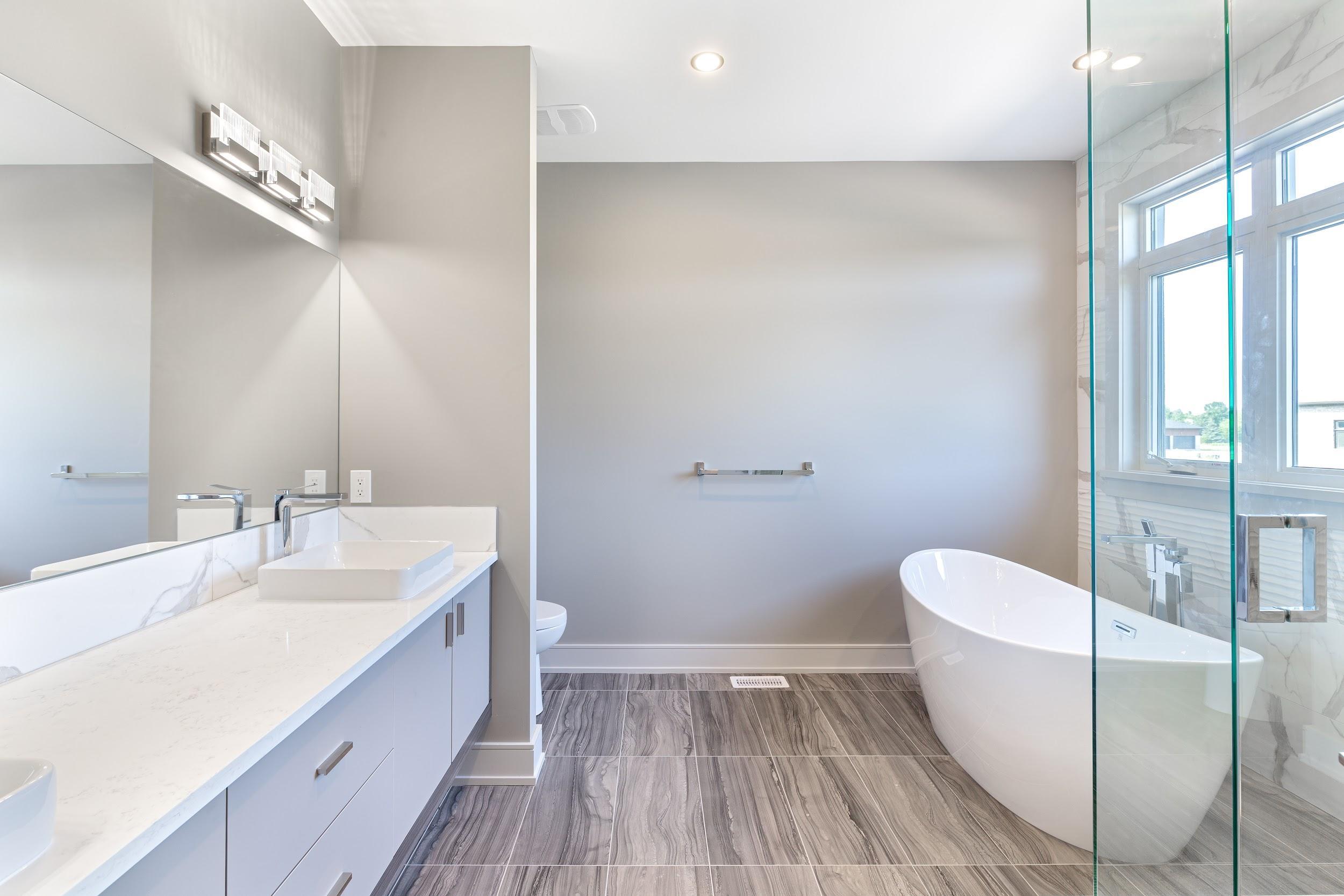 Custom Home Spa Bathroom