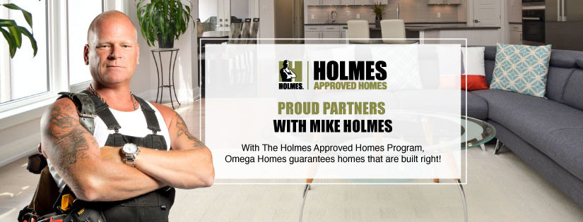 Proud to be a Holmes Approved Homes Builder