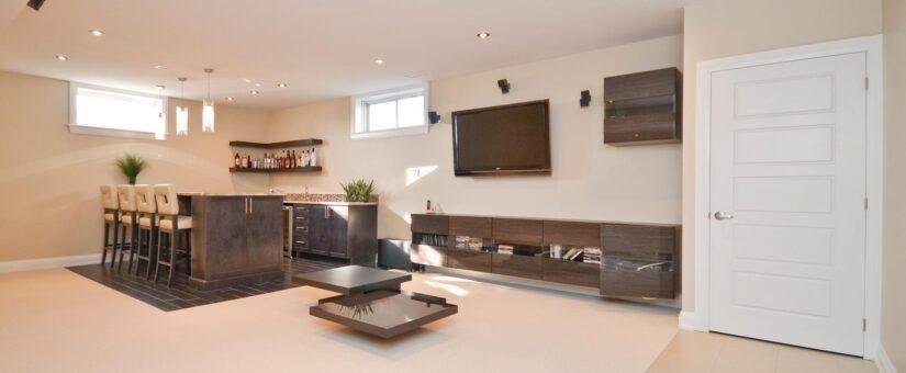 Luxury Home Series: Custom Basement